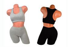 Pack Gift Lot Cotton Yoga Sports Bra Gym Exercise Tank Top + Pant M/L/XL/2XL/3X