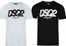 DSQUARED2 DSQ2 T-Shirt Short Sleeves Slim Fit  Big DSQ2 Logo Tilted Size S - 2XL