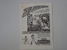 advertising Pubblicità 1974 SUPEREROI BARAVELLI AMICO JACKSON e TARZAN