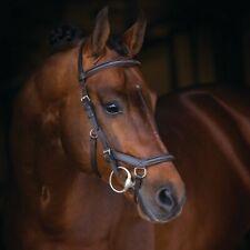 Horseware Rambo Micklem Deluxe Competition Bridle - Dark Havana - Trense