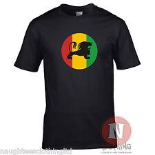 Rasta León Camiseta de fumar Dub Reggae Dancehall teeshirt marihuana