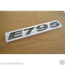 BESSACARR 'E Series' - (CHROME) - Number & Stripe Sticker Decal Graphic - SINGLE