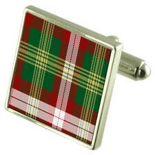 NORTHWEST TERRITORIES Tartan Cufflinks Choice Silver Gold Lape Pin Gift APS043