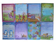 Döll Kinder Einladungskarten Geburtstagseinladungen Kinder 24-teilig A5 12/12