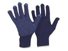 Strick Arbeitshandschuhe mit Noppen für optim. Grip Baumwollhandschuhe, Gr. 6-10
