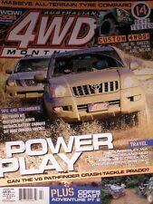 4WD Monthly Magazine January 2006 No 88 - Massive All-Terrain Tyre Comparo