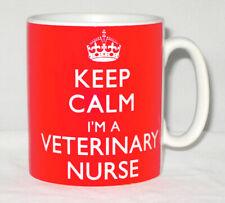 Keep Calm I'm A Veterinary Nurse Mug Can Be Personalised Vet Animal Lover Gift