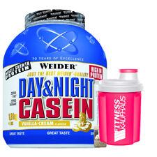 Weider Day & Night Casein 1800g Protein Eiweiss Geschmack wählbar + Ladyline Sha