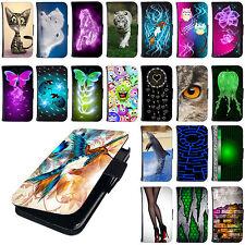 Hülle für ZTE Smartphone Tasche Schutzhülle Flip Cover Case Bumper Etui Motiv