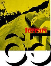 1965 Ferrari Yearbook - Cover Poster