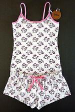 Disney Aristocats Marie Damen Pyjama Schlafanzug Kurz Shorty Katze XS S Primark