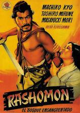 Akira Kurosawa's Rashômon 1950 Japanese movie poster 8