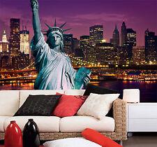 3D New York Liberty 7 Wall Paper Wall Print Decal Wall Deco Indoor AJ Wall Paper