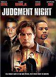 JUDGEMENT NIGHT rare Action dvd EMILIO ESTEVEZ Jeremy Piven DENIS LEARY 1993