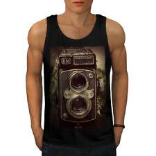 Old Foto Camera Men Tank Top NEW | Wellcoda