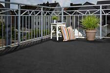 Kunstrasen Rasenteppich Balkon Schwarz Noppen Außen Nadelfilz Innen Outdoor