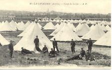 LARZAC CAMP LA CAVALERIE 16 tentes soldats
