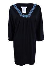 Dotti Women's Plus Jewel Tones Flutter-Sleeve Tunic Cover-Up