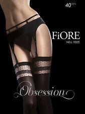 FIORE Nell Luxury Super Fine 40 Denier Decorative Seamed Microfibre Stockings
