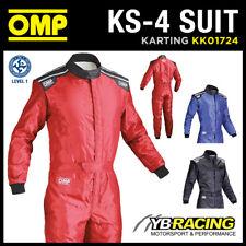 ! nuevo! KK01724 Omp Karting Carrera Traje Kart KS-4 KS4 ideal para principiante de nivel de entrada