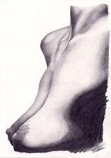 Arte Original. estudio de desnudo. por Simon campo.