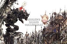 RGC Huge Poster - Final Fantasy VI III Terra SNES GBA PS1 PS2 PSP PS4 - FVI001