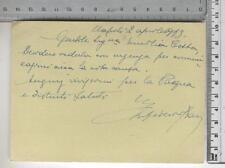 Cartolina Postale - Lettera urgente - 17017