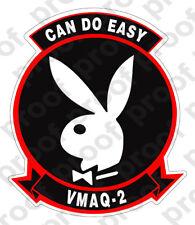 STICKER USMC UNIT VMAQ - 2 COL EASY