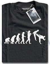 Nouvelle évolution des Arts martiaux Judo Karaté Taekwondo Kung fu t-shirt homme