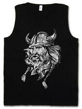 VIKING HEAD I TANK TOP Runen Walhalla Odin Thor Kopf Vikings Odhins Wikinger