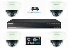 SAMSUNG Kit di canale 4 Full HD 1080P 4MP 4 TELECAMERA CCTV CASA SICUREZZA SISTEMA 1TB