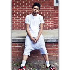 58923 J Cole NC Rap Music Singer Star Custom Wall Print Poster CA