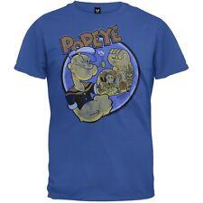 Popeye - Tattoos Adult Mens T-Shirt