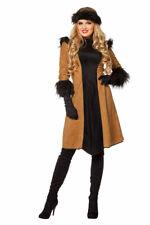 Dschingis Khan Kostüm Russen Kostüm Russisch Russin Karneval Damen-Kostüm KK