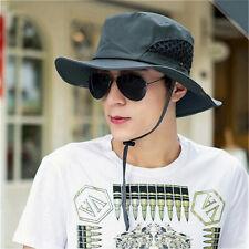Sun Hat for Men Summer Outdoor Sun Protection Wide Brim Bucket Hat Boonie Hat