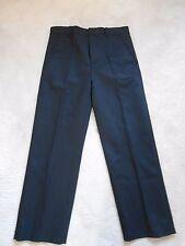 M&S Autograph Black Cotton Chinos Trouser (NEW) Size W: 81 cm  L:74 cm £45.00