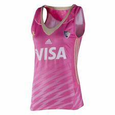 adidas Women's Las Leonas Argentina Hockey Away Jersey- Pink