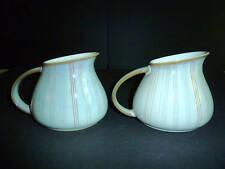 DENBY Stoneware Mist Falls Small Jugs Set/2 England New