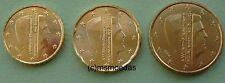 Niederlande 10+20+50 Euro-Cent Münzen Euromünzen coins moedas Auswahl Jahr