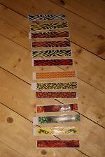 PFEILCRESTING für 12 Pfeile, Arrow Wraps -Holz-Carbon-Alupfeile - Bogenschießen