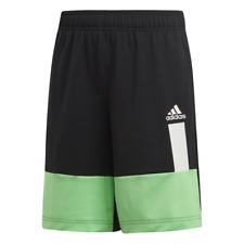 Adidas Kids Training Shorts Running Colour Block Boys Short Club Blue New DV1372