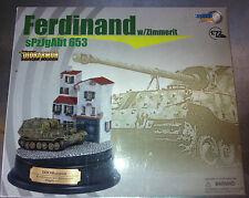 DRAGON DIORARMOR DR60209 FERDINAND W/ZIMMERIT sPzJgAbt 653 - 1/72 NUOVO