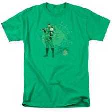 Green Arrow Arrow Target DC Comics Licensed Adult T Shirt