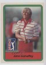 1982 Donruss Golf Stars #24 John Mahaffey Card