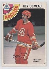 1978-79 O-Pee-Chee #293 Rey Comeau Calgary Flames Colorado Rockies Hockey Card