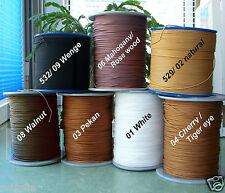 Schnur Jalousieschnur 2,6-2,8mm 3 Längen viele Farben Ersatzschnur zum Austausch