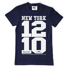 Technics / DMC T-Shirt - New York 1210 Navy Blue Blau (Size S-XXL) T093N