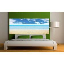 Adesivi testata del letto Decocrazione stanza Mare Spiaggia 9139