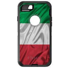 CUSTOM OtterBox Defender for iPhone 6 6S 7 PLUS Red White Gren Italian Flag Ital