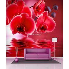 Papier peint géant  Orchidée rouge 11027 11027